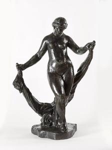 Pierre-Auguste RENOIR - Scultura Volume - La danseuse aux voiles