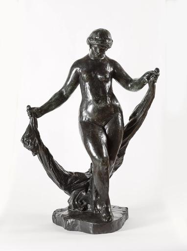Pierre-Auguste RENOIR - Sculpture-Volume - La danseuse aux voiles