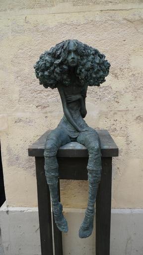 Valérie HADIDA - Skulptur Volumen - Candide