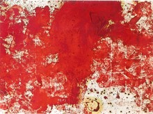 Hermann NITSCH - Painting - Malaktion 19