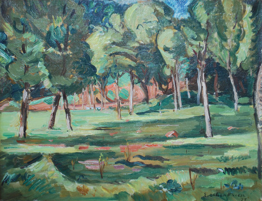 Emile Othon FRIESZ - Pittura - Landscape