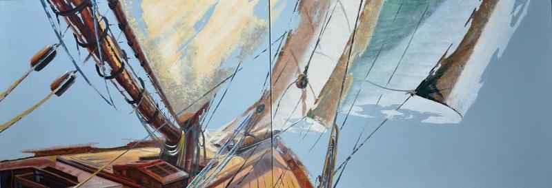 Diana KIROVA - Painting - EVASIONI