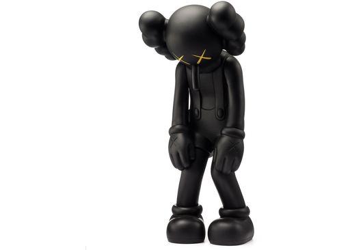 KAWS - Escultura - Small Lie Companion Vinyl Figure Black