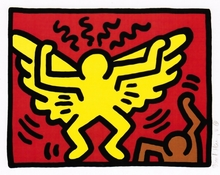 Keith HARING (1958-1990) - Pop Shop IV I