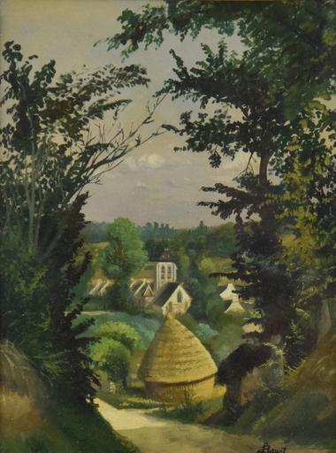 Louis HAYET - Peinture - Paysage