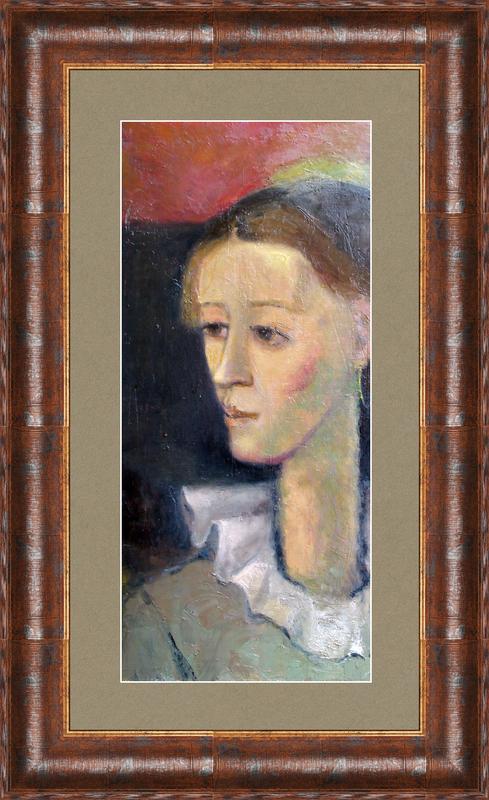Levan URUSHADZE - Woman in white collar