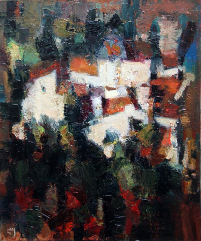Levan URUSHADZE - Peinture - Cityscape