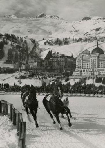 Emil MEERKÄMPER - Fotografie - Um den Grossen Preis von St. Moritz