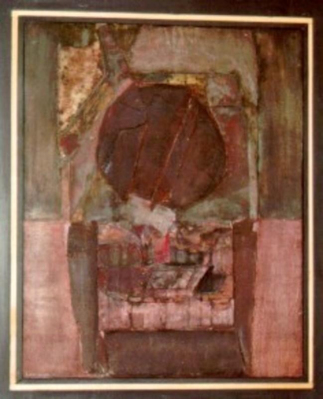 Lucio MUÑOZ - Pintura - El agujero