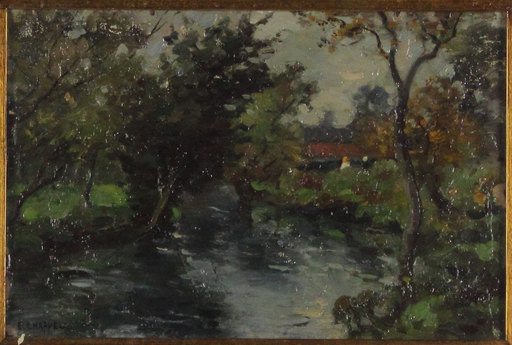 Edward CHAPPEL - Pittura - Senza titolo