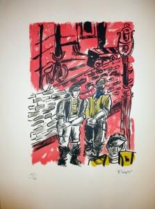 Fernand LÉGER, Deux Hommes