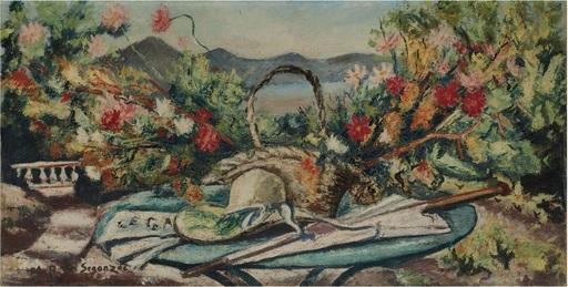 André Albert Marie DUNOYER DE SEGONZAC - Pintura - Nature morte en Provence