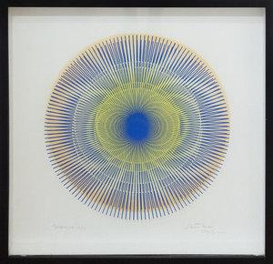 Alberto BIASI - Disegno Acquarello - Dinamica dell'62