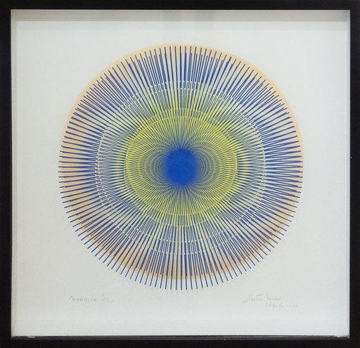 Alberto BIASI - Dibujo Acuarela - Dinamica dell'62