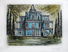 Bernard BUFFET - Stampa Multiplo - Le Palace des Glissades