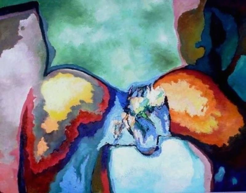 Claude THIEL DE NEUVILLE - Peinture - Passion isotherms n°17