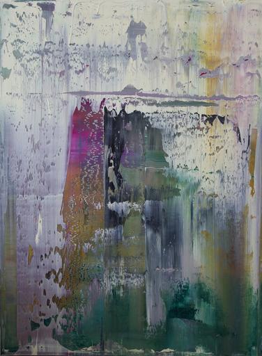 Harry James MOODY - Peinture - Abstract Vegetable Garden No.226