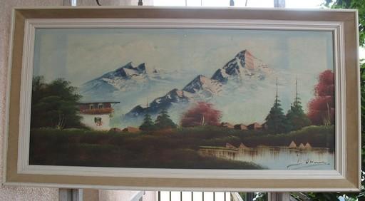 Oskar Robert DOGARTH - 绘画 - Winter Landscape