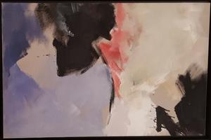 Jean MIOTTE - Pintura - Composition abstraite