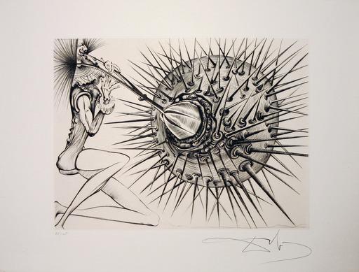 Salvador DALI - Print-Multiple - Don  Quichotte et L'oursin