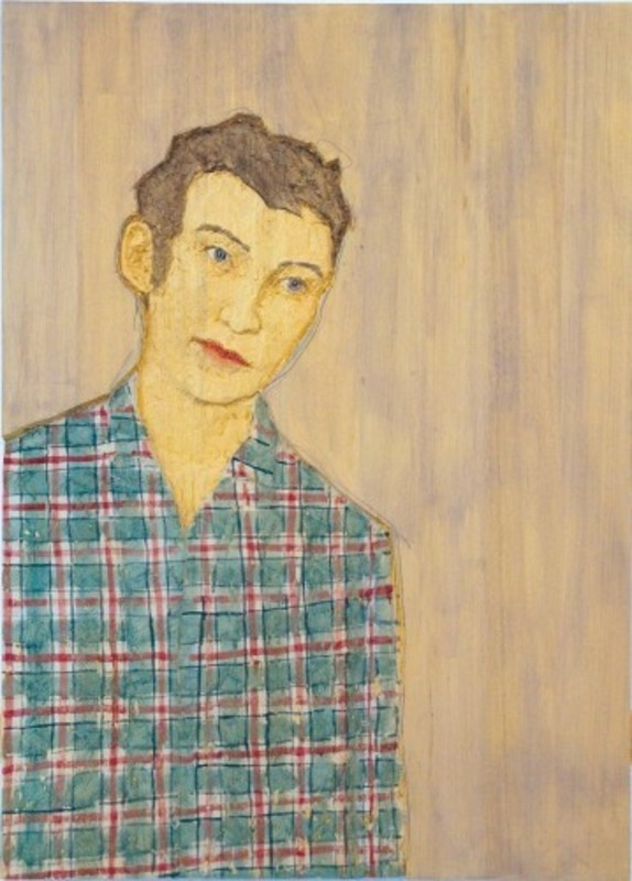 Stephan BALKENHOL - Estampe-Multiple - Male Portrait