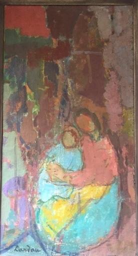 Sigmund LANDAU - Pintura - maternite