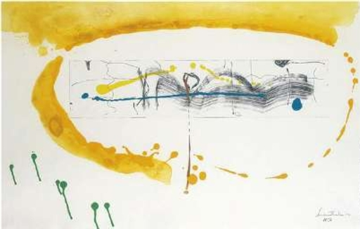 Helen FRANKENTHALER - Druckgrafik-Multiple - making music