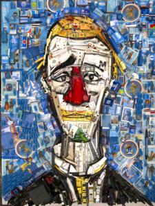 Bernard PRAS - Fotografie - Inventaire 98 - le clown