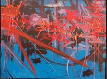 Georges MATHIEU - Pintura - Sourires ignorés