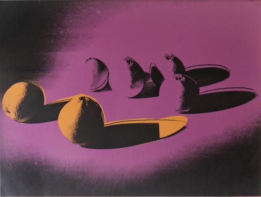 Andy WARHOL - Grabado - Space Fruit: Oranges (FS II.197)