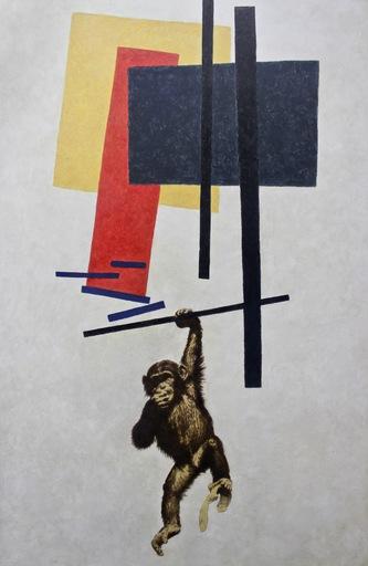 Vladimir KOLESNIKOV - Pittura - Untitled (Suprematism)