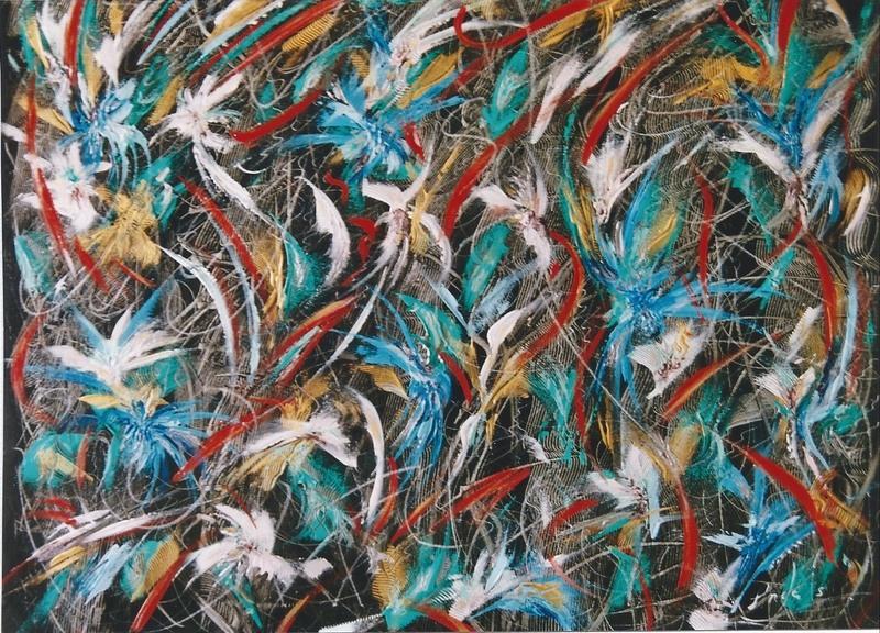 Didier ANGELS - Pintura - Le Printemps