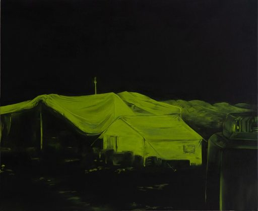 Martin AITKEN - Painting - « We noticed that something was happening in the camp »