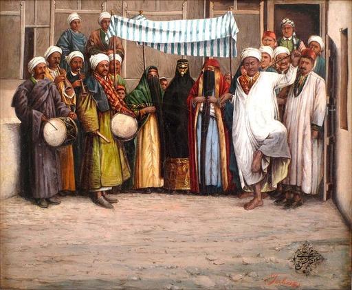Ali NAQASH - Gemälde - Wedding Ceremony in Tebriz