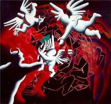 Mark KOSTABI - Painting - Simply Irresistible
