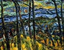 Auguste DUREL - Painting - Fin de journée en Provence (N° 65)