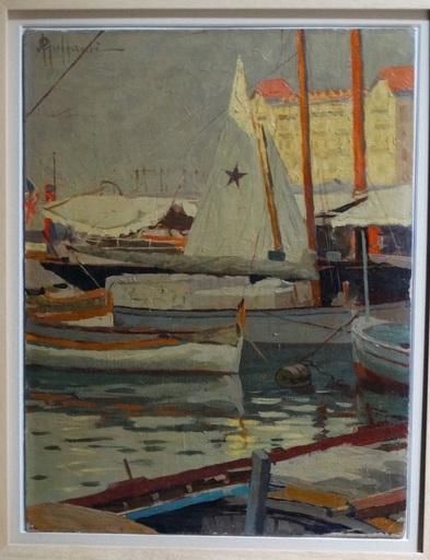 Attilio GUFFANTI - Gemälde - Le port