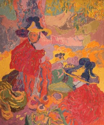 NINOSKA - Painting - Mujeres bereberes. Marruecos