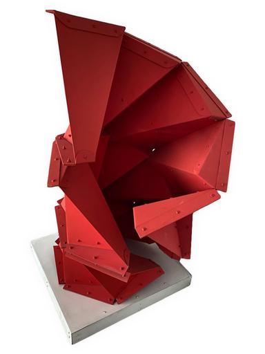 Edgar NEGRET - Skulptur Volumen - Acoplamiento