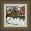 Valeriy NESTEROV - Pittura - Moscow. A small yard on Taganskaya Street