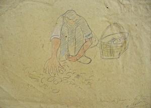 Auguste chabaud le ramasseur de pommes de terre for Auguste chabaud cote
