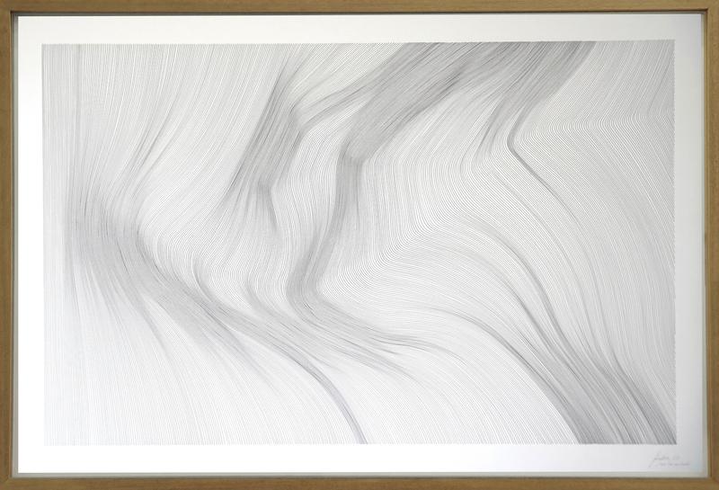 John FRANZEN - Drawing-Watercolor - Each Line One Breath