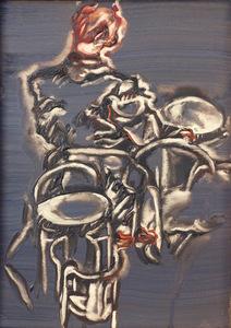 Ida BARBARIGO - Painting - Cuin, Cuin Dove Te Gha Messo Jubele?