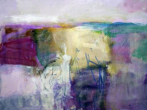 Klaus Karl MEHRKENS - Painting - Valle umbra