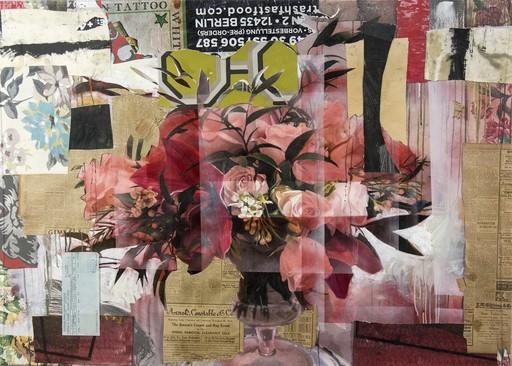 Peter HOFFER - Peinture - Arrangement in Red