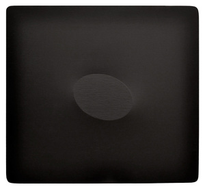 Turi SIMETI - Painting - Un ovale nero