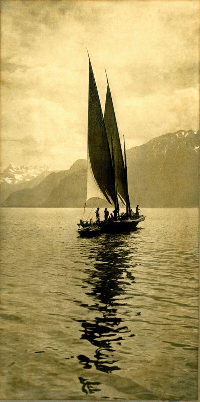 Frères & Cie. CHARNAUX - Fotografia - Sur le Lac de Genève