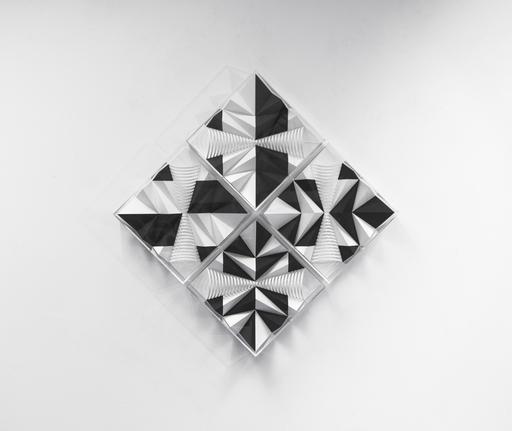 Fabrice AINAUT - Zeichnung Aquarell - Variation autour d'un demi-cône 2