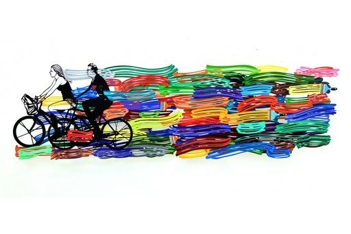 大衛•葛爾斯坦 - 雕塑 - Happy Ride