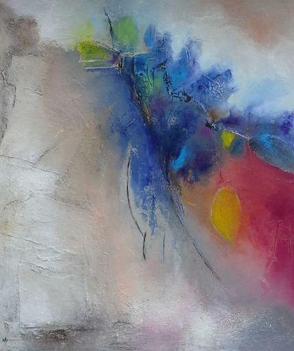 Thérèse BOSC - Painting - Eté sur le Roc